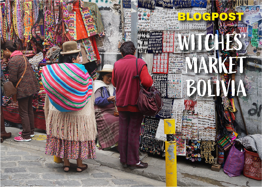 The Mythical Witches Market In Bolivia